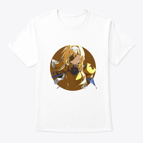 Sword Art Online     Sao, Anime, Manga White T-Shirt Front
