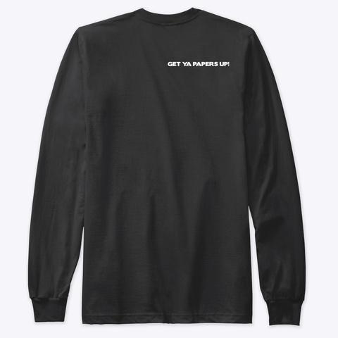 Hip Hop Nyc Slogan Tee Thassafack Black T-Shirt Back