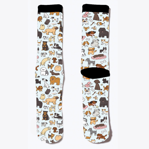 Dog Lover Socks  Standard T-Shirt Front