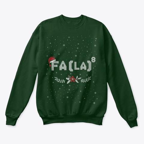Math Christmas 2020 Deep Forest  T-Shirt Front