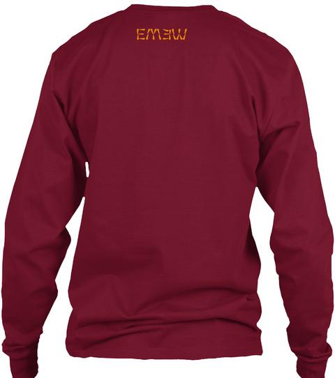 Emew Cardinal Red T-Shirt Back
