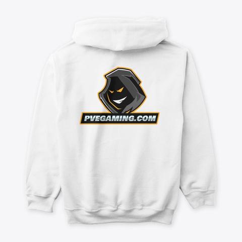 Pvegaming Merch White T-Shirt Back