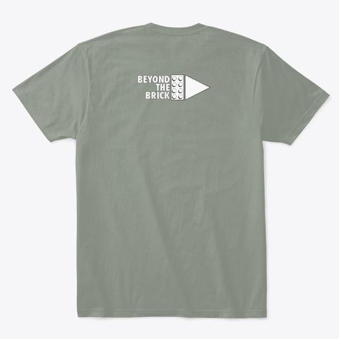 Pretty Solid Grey T-Shirt Back