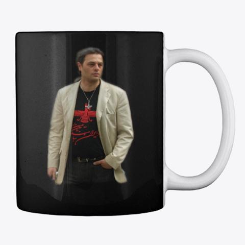 Khosro Fravahar Black Mug Back