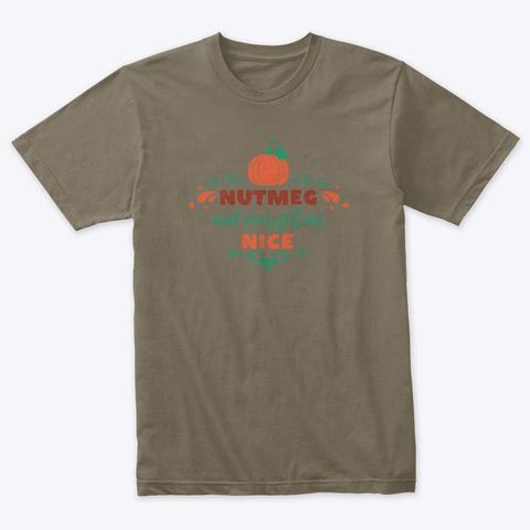 Nutmeg Venetian Gray T-Shirt Front