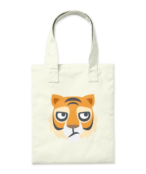 Gorgeous Tiger Tote Bag!  Natural T-Shirt Back