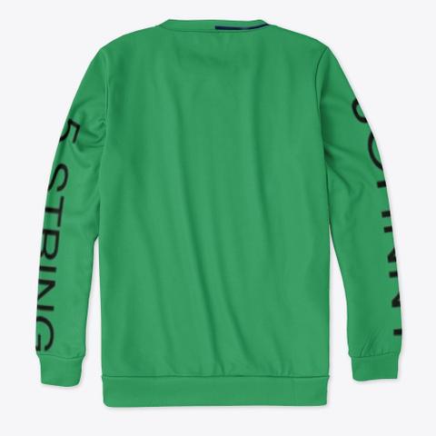 Johnny 5 String   Faster   Single   Art Green T-Shirt Back