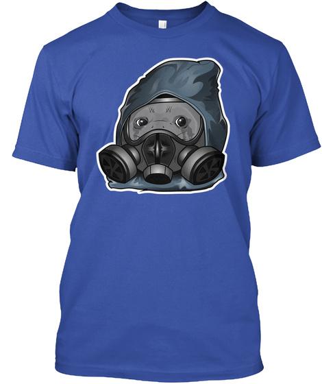 Crying Seal Royal T-Shirt Front