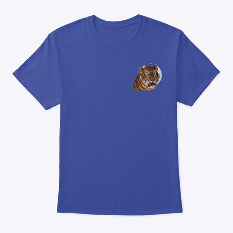 The Tiger Deep Royal T-Shirt Front