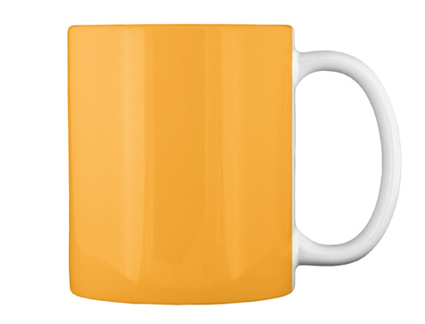 My First Skateboard Mug Athletic Gold Mug Back