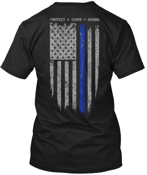 Protect Serve Honor T-Shirt Back