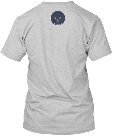 Sqs Light Steel T-Shirt Back
