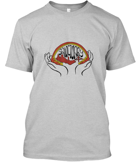 Sf S Anctuary Light Steel T-Shirt Front