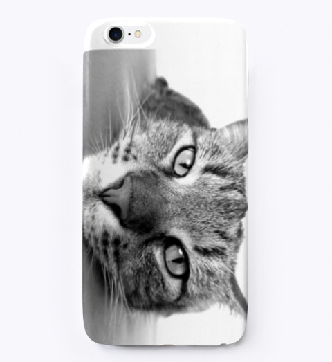 Board Cat Phone Cover. Standard T-Shirt Front