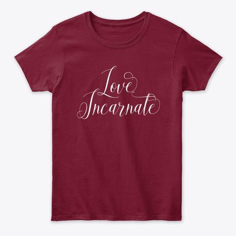 Love Incarnate | Spiritual Tee Cardinal Red T-Shirt Front