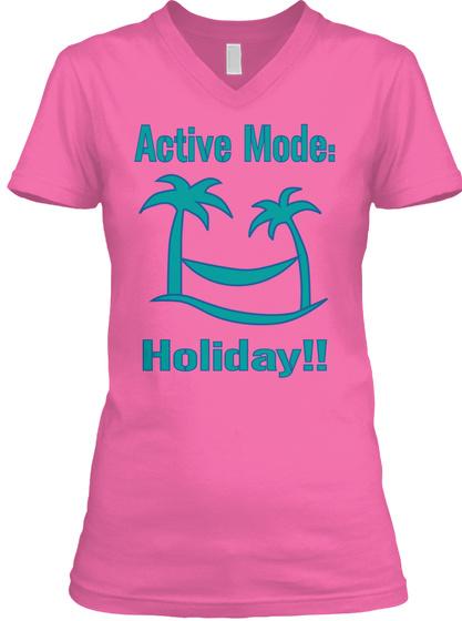 Active Mode: Holiday!! Azalea T-Shirt Front