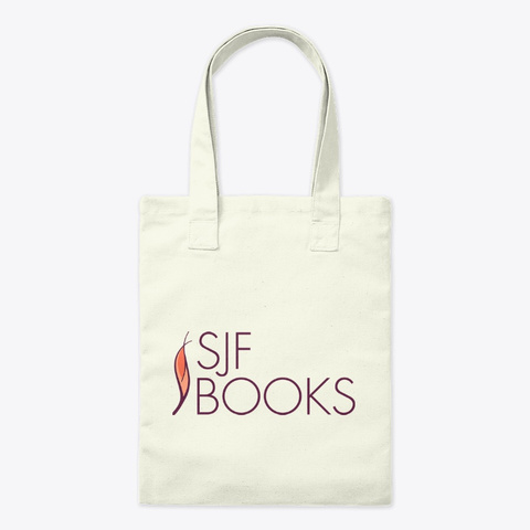 Sjf Books Swag Natural T-Shirt Front