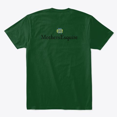 Nothing Scares Me... Forest Green  T-Shirt Back