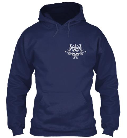 My Life Navy Sweatshirt Front