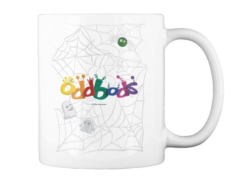 Oddbods Tm One Animation White Mug Back