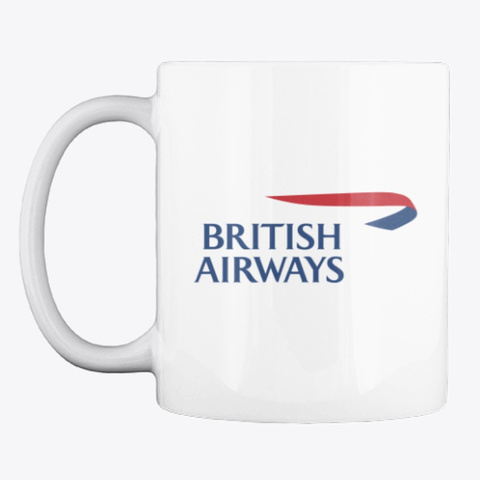 British Airways   Mug White T-Shirt Front