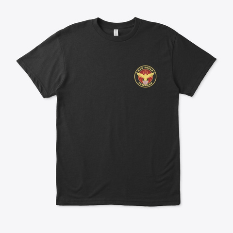 Nak Squad And Nak Command   Tees Black T-Shirt Front