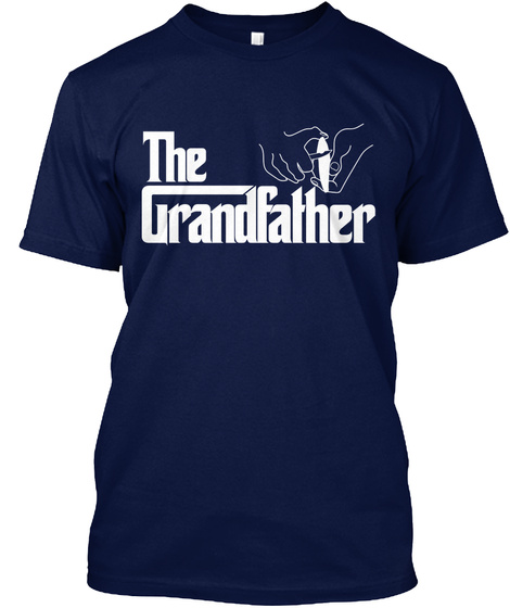 The Grandfather Navy T-Shirt Front