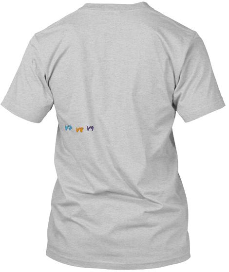 V7 V9 V8 Light Steel T-Shirt Back