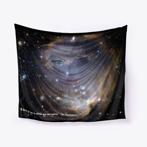 Painel De Parede   As Estrelas Black T-Shirt Front