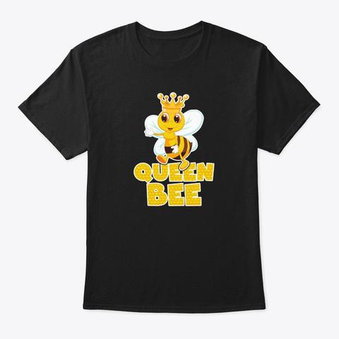 Queen Bee T Shirt Black T-Shirt Front