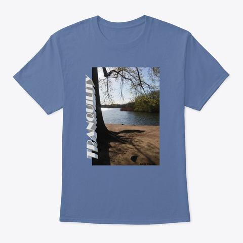 Prospect Park Ny Tee Denim Blue T-Shirt Front