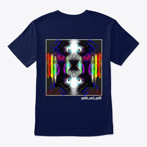 Nebular Navy T-Shirt Back