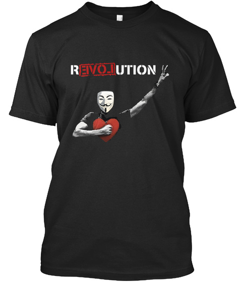 Revolution Black T-Shirt Front