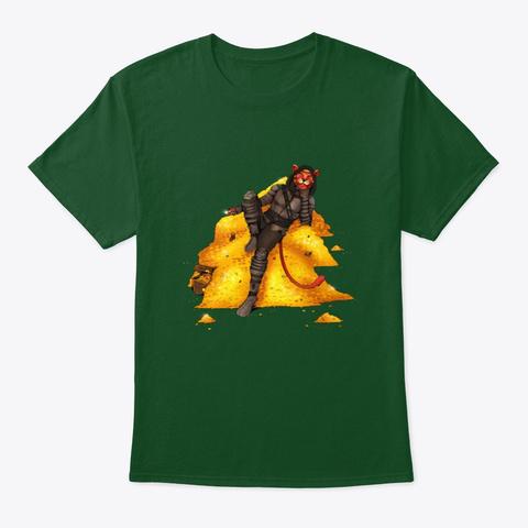 Grohlvana Dar'vesh (No Name) Merch! Deep Forest T-Shirt Front