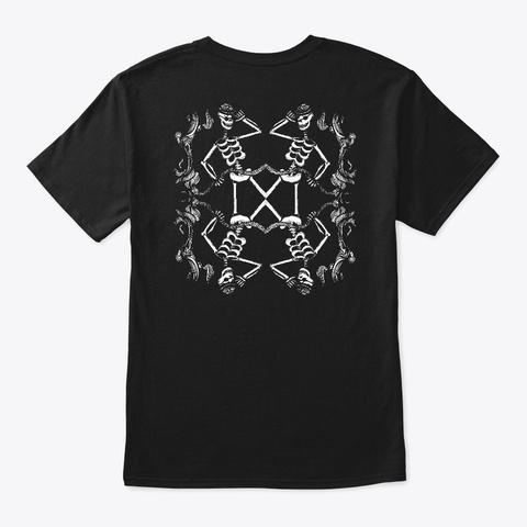 Barbascura   Bandierazza Black T-Shirt Back