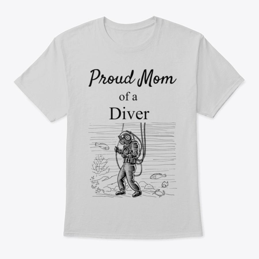 Deep Sea Diver Childproud Mom Aquatic T- Unisex Tshirt