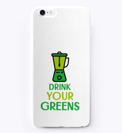 Drink Your Greens Standard T-Shirt Front