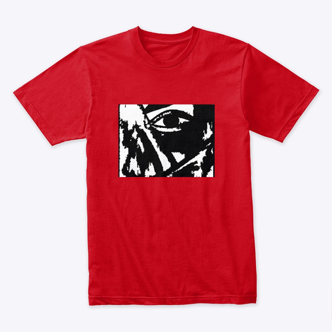 Eye Of Vision Red T-Shirt Front