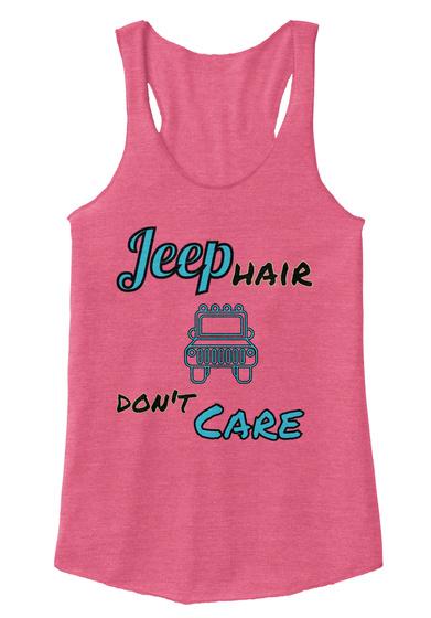 Jeep  Hair Don't Care Eco True Azalea T-Shirt Front
