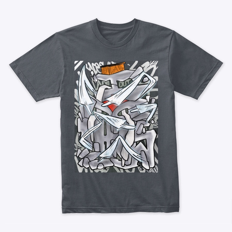Venlab I Do This Laced Tee Heavy Metal T-Shirt Front