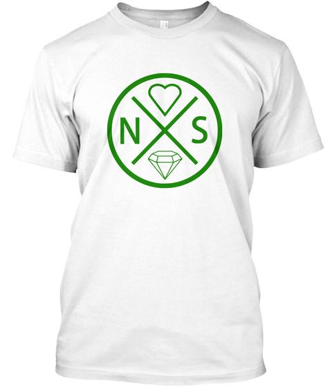 Nsx White T-Shirt Front