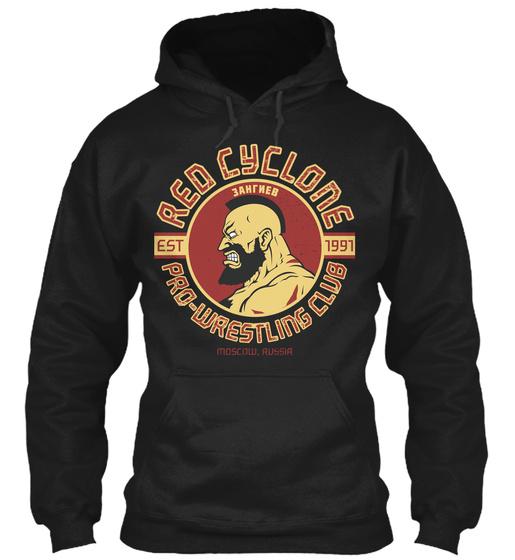 Red Cyclone Est 1991 Pro Wrestling Club  Sweatshirt Front