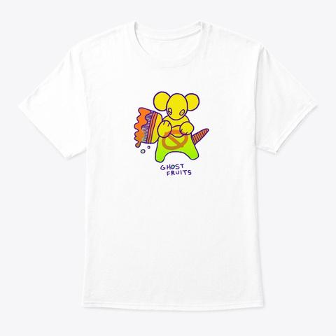 Rat White T-Shirt Front