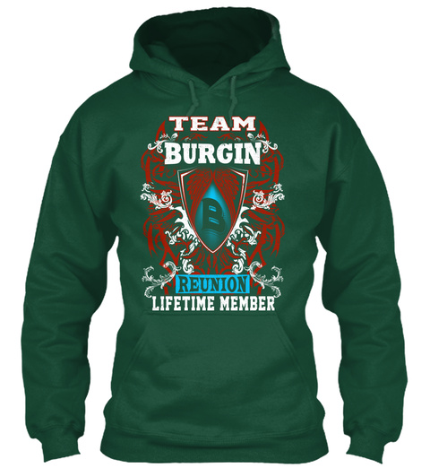 Burgin Team Reunion Bottle Green T-Shirt Front