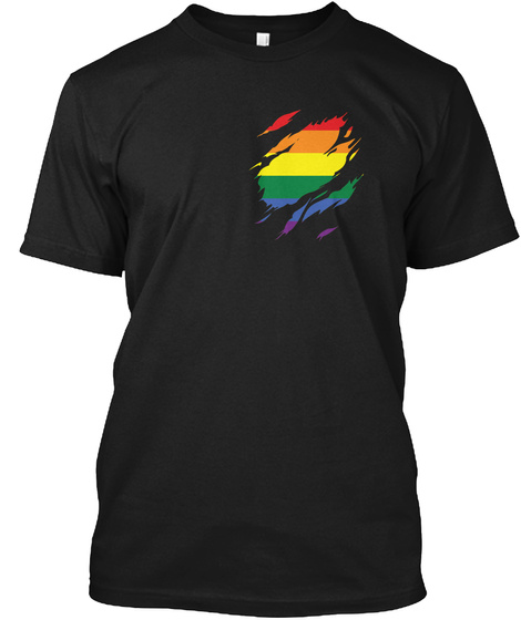 Lgbt Inside Limited Edition Black T-Shirt Front