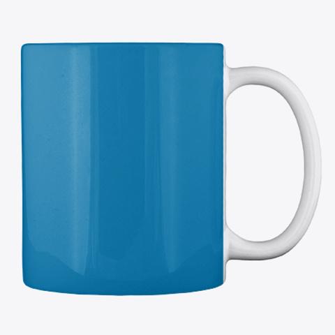 Edwin's Pours Mug Royal Blue T-Shirt Back