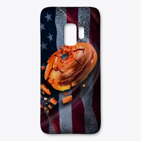 Patriotic American Clays Phone Case Black T-Shirt Front