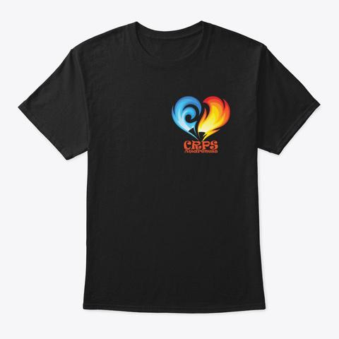 Crps Awareness Black T-Shirt Front