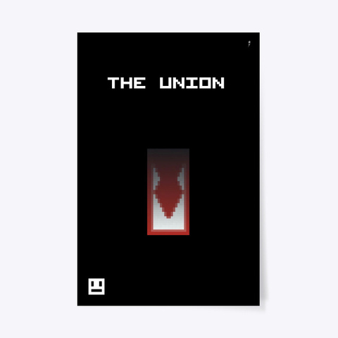 The Union Poster Black T-Shirt Front