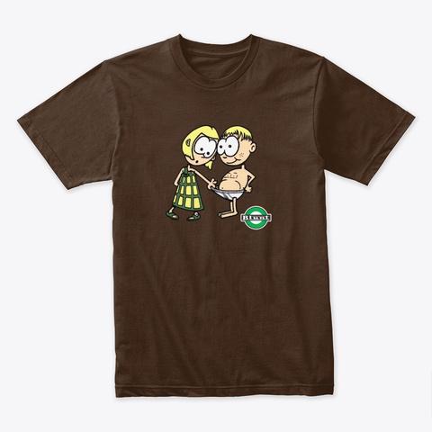 Blunt Tighty Whities Dark Chocolate T-Shirt Front